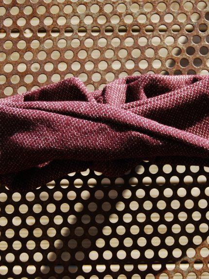 Headband (bandeau noué) de la boutique Elle virevolte Bandeaux et accessoires en tissu bio GOTS. Création française (Aveyron)